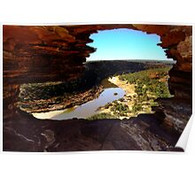 Nature's Window, Kalbarri, Western Australia Poster