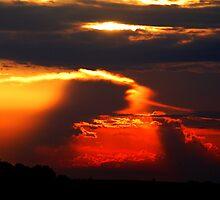 red sun by Wheelssky