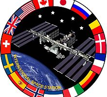 ISS Composite Logo by Spacestuffplus