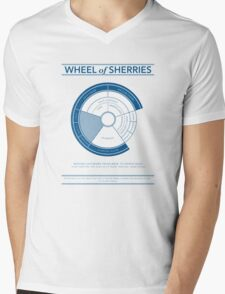 The Wheel of Sherries Mens V-Neck T-Shirt