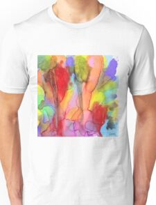 2 Art Abstract Watercolor Modern Prints by Robert R (Erod Art) Unisex T-Shirt