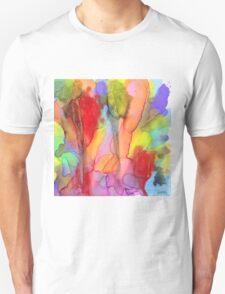 2 Art Abstract Watercolor Modern Prints by Robert R (Erod Art) T-Shirt