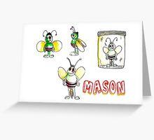 Mason Greeting Card