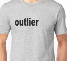 Outlier moved off the Center for Statisticians Unisex T-Shirt