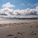 The beach at Kirkapol - Tiree, Scotland by laurawhitaker