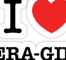 I Love OPERA-GIRLS Sticker