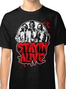 Stayin' Alive 2 (Zom-Bee Gees) Classic T-Shirt