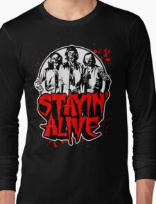 Stayin' Alive 2 (Zom-Bee Gees) Long Sleeve T-Shirt