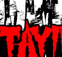 Stayin' Alive 2 (Zom-Bee Gees) Sticker
