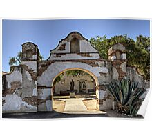 Mission Gate (San Miguel Spanish Mission, California) Poster