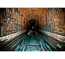 Brick Tunnel Photographic Print