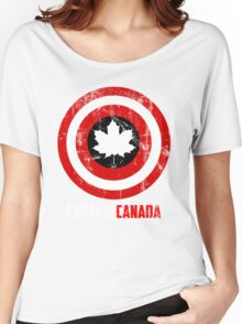 Captain Canada Women's Relaxed Fit T-Shirt