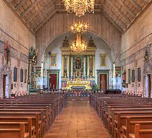 Mission Altar (San Jose Spanish Mission, California) by Brendon Perkins
