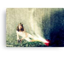 ~ the girl who knew she could fly ~ Canvas Print