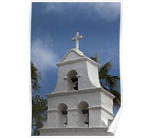 Mission Bell Tower (San Diego Spanish Mission, California) Poster