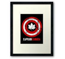 Captain Canada Framed Print
