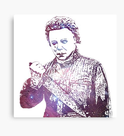 Halloween | Michael Myers | Tony Moran | Galaxy Horror Icons Canvas Print