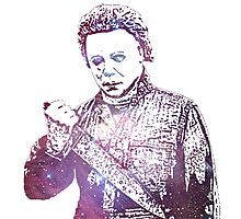 Halloween | Michael Myers | Tony Moran | Galaxy Horror Icons Photographic Print