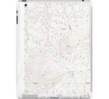 USGS Topo Map Oregon Pinhead Buttes 20110811 TM iPad Case/Skin