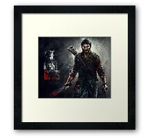 Joel - The Las of Us Framed Print