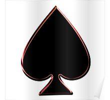 Black Spade Poster