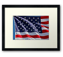 The Stars & Stripes Framed Print