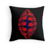 Abstract Design 204C Throw Pillow
