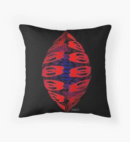 Abstract Design 204C Throw Pillow