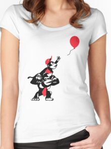 Balloon Apes Women's Fitted Scoop T-Shirt