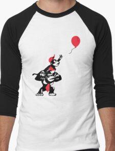 Balloon Apes Men's Baseball ¾ T-Shirt