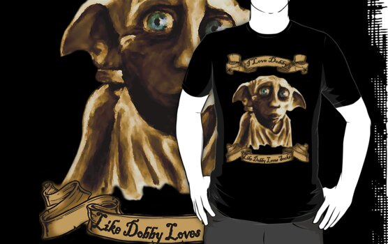 I Love Dobby, Like Dobby Loves Socks by krishnef