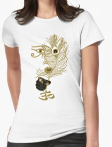 (Hidden) Behind the Eyes  Womens Fitted T-Shirt