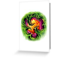 Bio Organic D20 Greeting Card