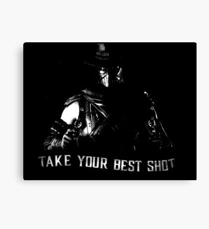 Mortal Kombat Erron Black Canvas Print