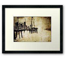 Cottesloe Jetty Framed Print
