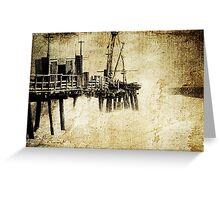 Cottesloe Jetty Greeting Card