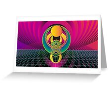 Scarab Divination Greeting Card