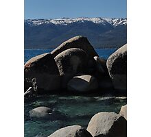 Ice Cold Boulders Photographic Print