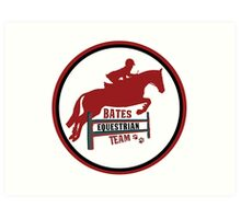 Bates Eq Team Art Print