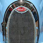Bugatti Type 37A, 1926, Radiator Detail  by Carole-Anne