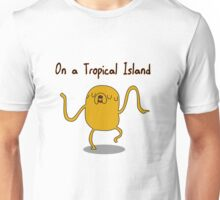 Adventure Time On a Tropical Island Unisex T-Shirt