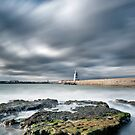 Lighthouse at Seaton Carew. by maxblack
