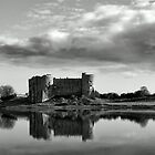 Castle Across The Lake by PShellard