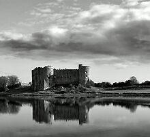 Castle Across The Lake by Paul Shellard