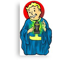 OUR LORD AND SAVIOR, VAULTBOY Canvas Print