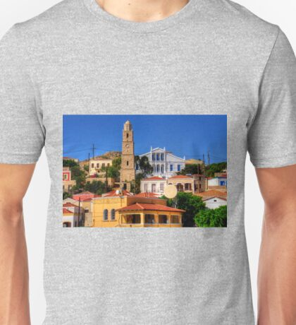 Town Hall and Clock Tower Unisex T-Shirt