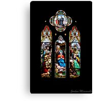 Stained Glass - St John's Canvas Print
