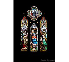 Stained Glass - St John's Photographic Print