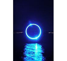 Blue Ball Photographic Print