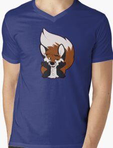 Sup Fox Mens V-Neck T-Shirt